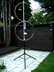 antenna magnetic loop , duo magloop , fractal magnetic loop